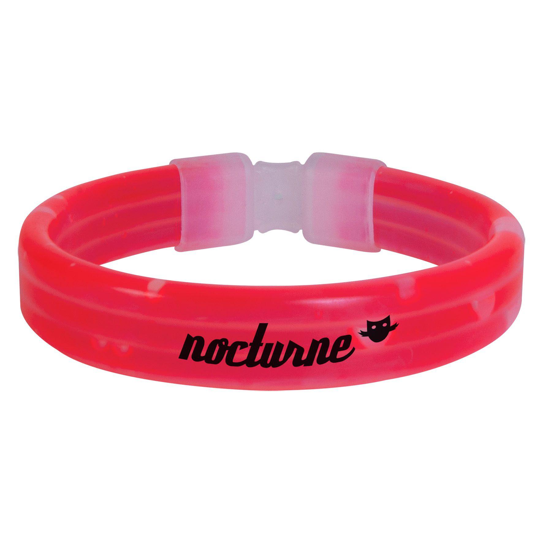 Bracelet lumlineux publicitaire - Bracelet lumineux personnalisable Eclat