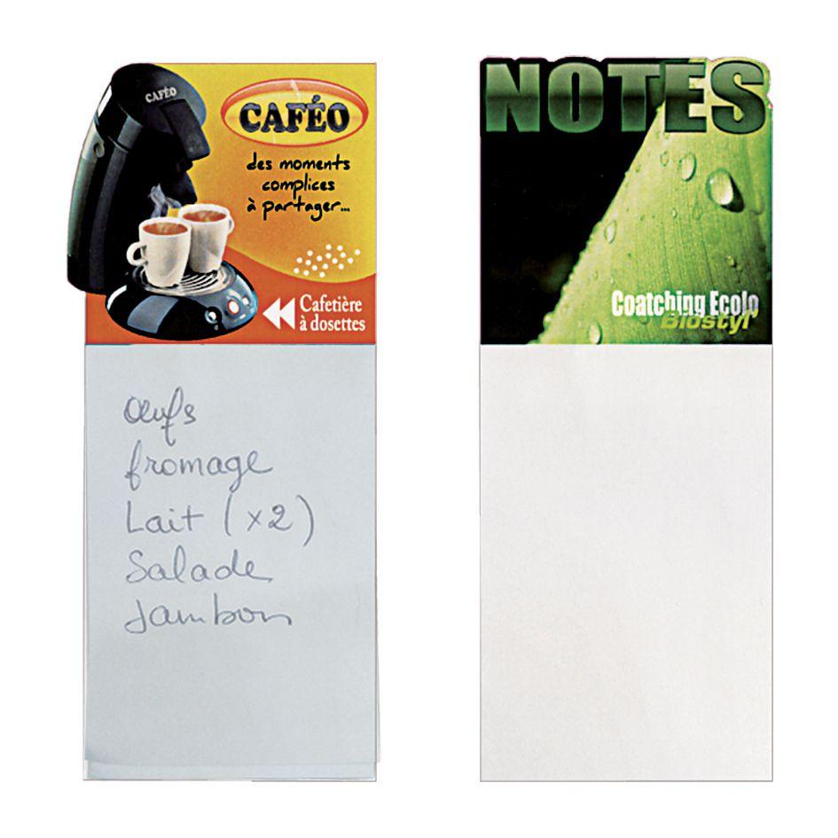 Bloc-notes publicitaires Magneto - bloc-notes personnalisables