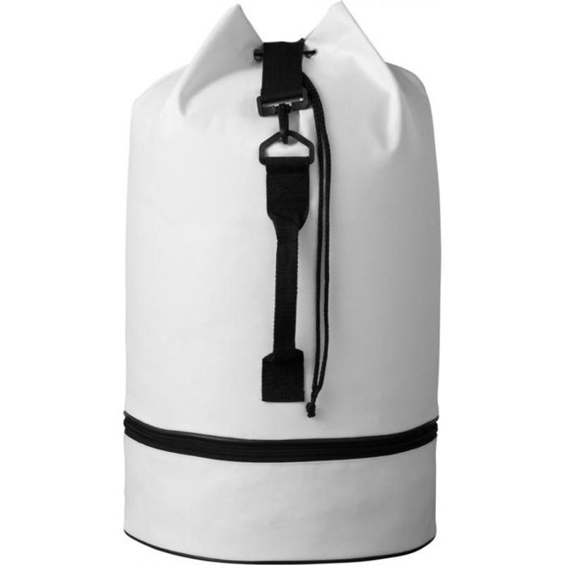Sac marin publicitaire avec compartiment Idaho - blanc