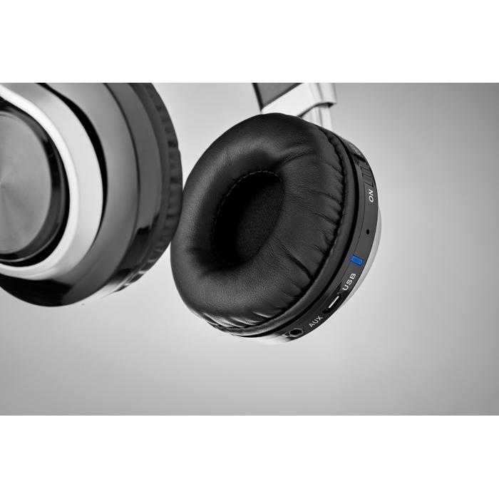 Casque audio Bluetooth® personnalisé New Orleans - noir