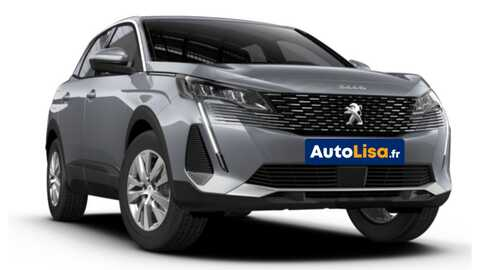 Peugeot 3008 Nouveau Active Pack   Autolisa