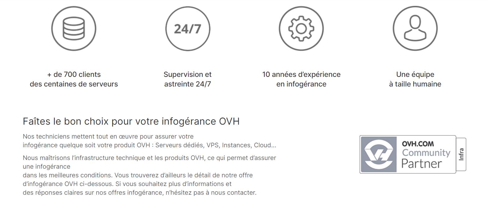 infogérance OVH