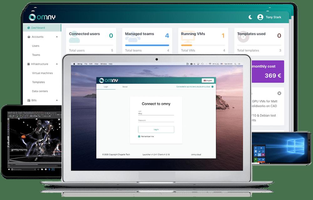 Service Omny Cloud Desktops