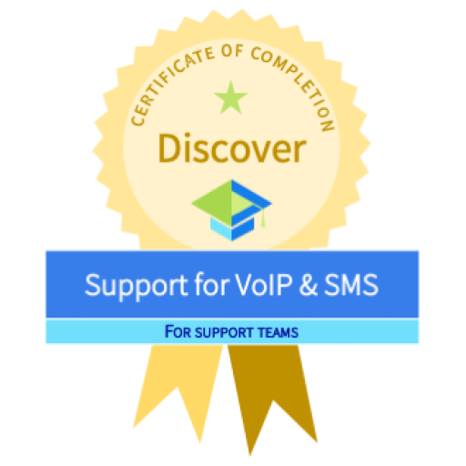 Support fo Voip & SMS