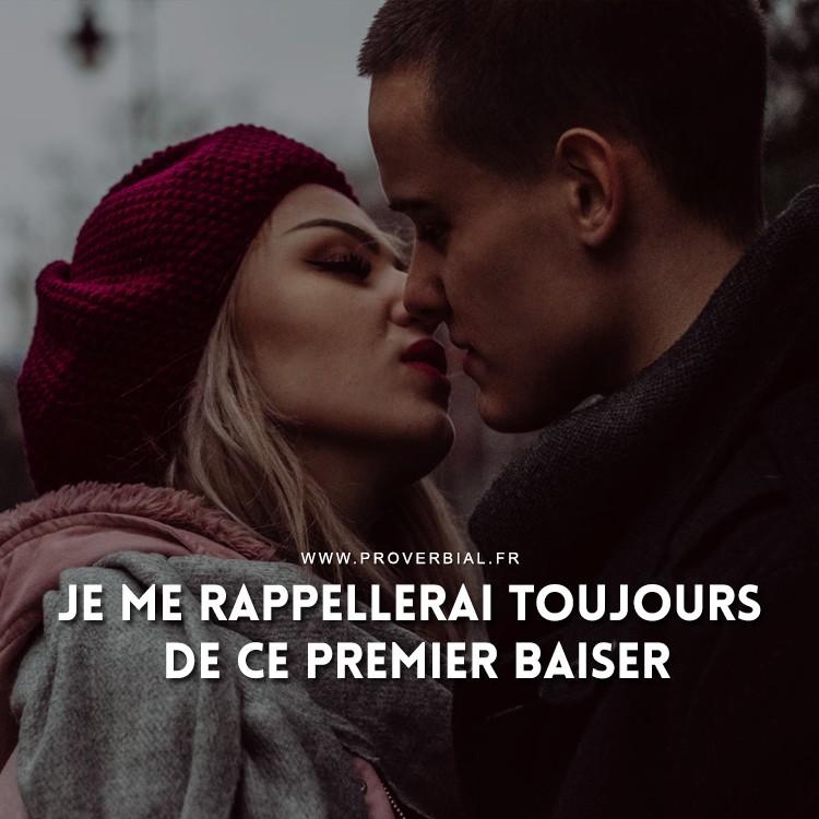 Je me rappellerai toujours de ce premier baiser.
