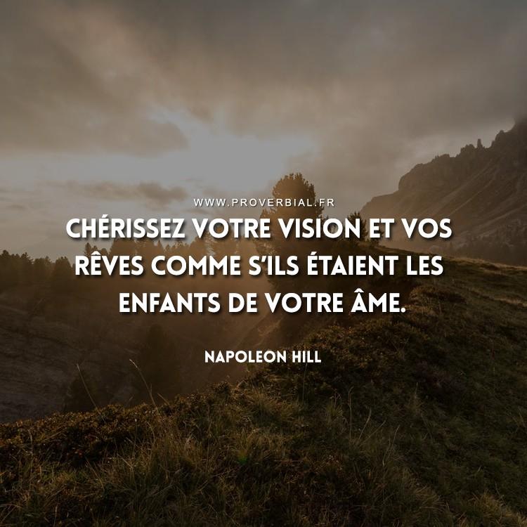 Citation de Napoleon Hill