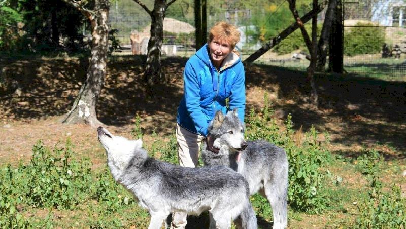 Héric. Éleveuse de loups, espèce menacée