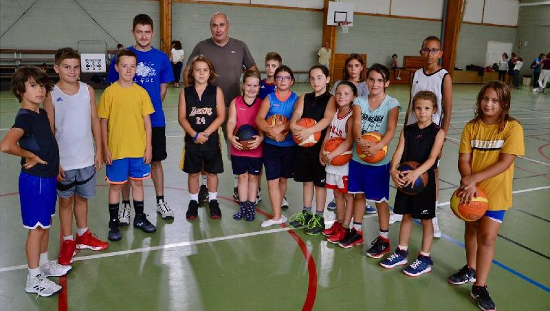 Le Gâvre. Le basket à trois joueurs fait son apparition