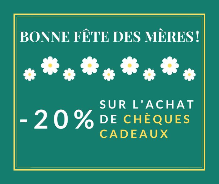 -20% POUR LE FÊTE DES MERES CHEZ FABIENNE REFLEXOLOGIE !