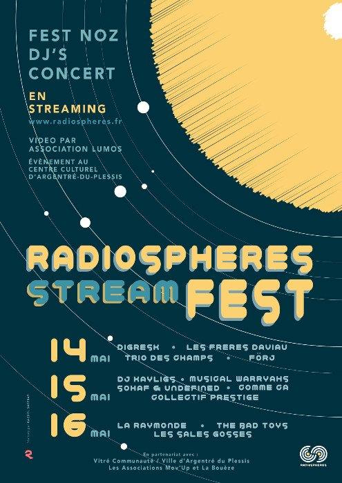 Radiospheres Stream Fest : l'évènement musical du WE dans le Pays de Vitré