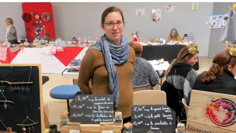 Chaumes-en-Retz. Céline propose de la savonnerie artisanale