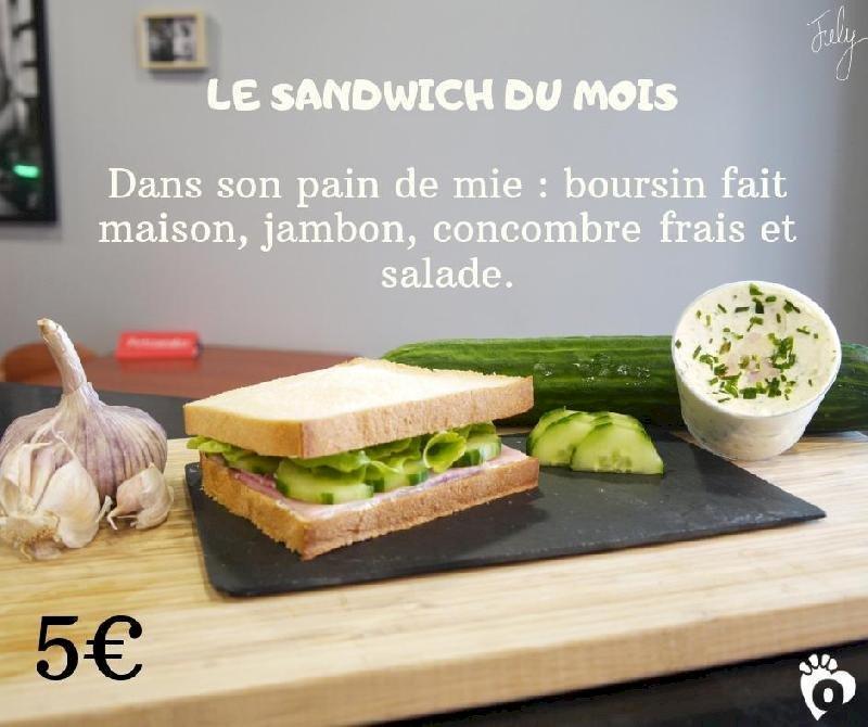 L'Amour est le Blé à Blain = Votre sandwich du mois de juillet !