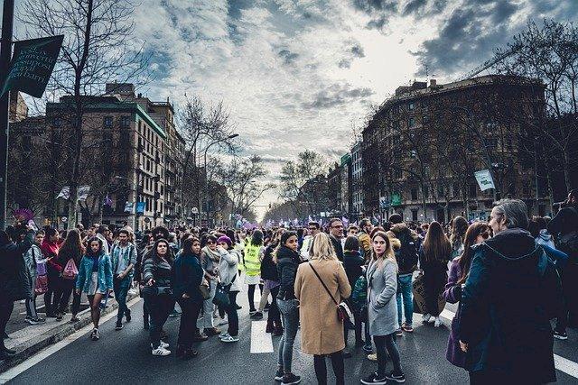 Circulation au centre-ville de Nante perturbée en raison d'une manifestation le 6 février