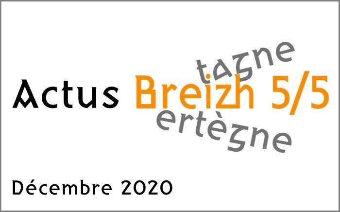 """Les Actus """"Breizh 5/5"""""""
