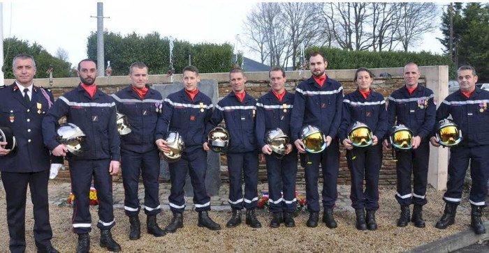 Les Pompiers une nouvelle fois à l'honneur