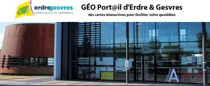 GÉO Port@il d'Erdre & Gesvres, en 1 clic consultez les cartes dynamiques