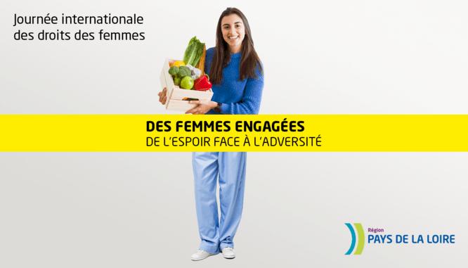 Le 8 mars : Une émission en ligne « Femmes engagées, de l'espoir face à l'adversité