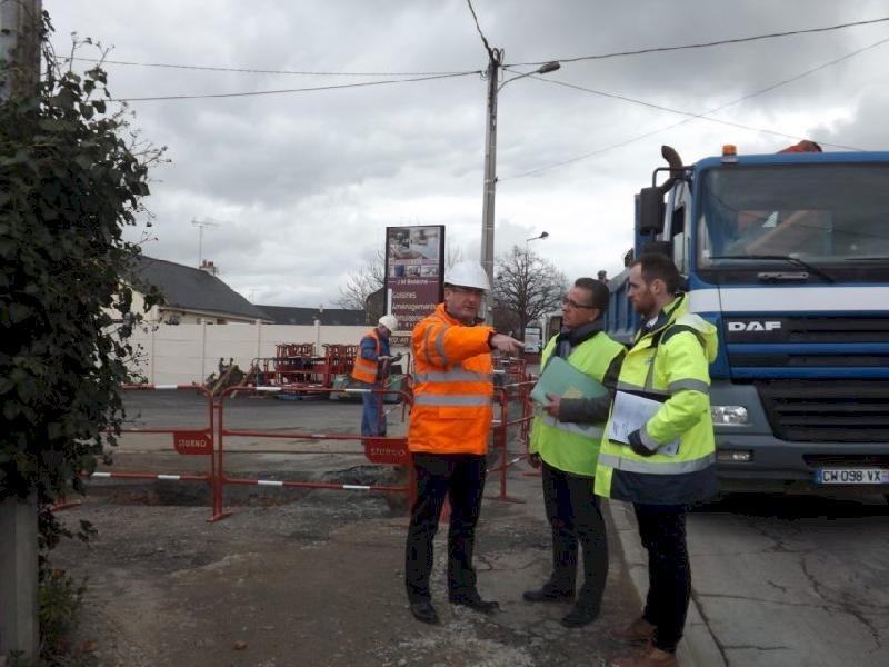À Blain, de nouveaux travaux prévus en mai 2019 route de l'Isac