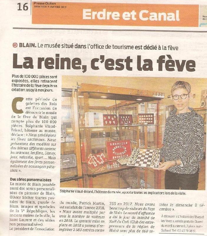 10 000  fèves des rois au Musée de Blain