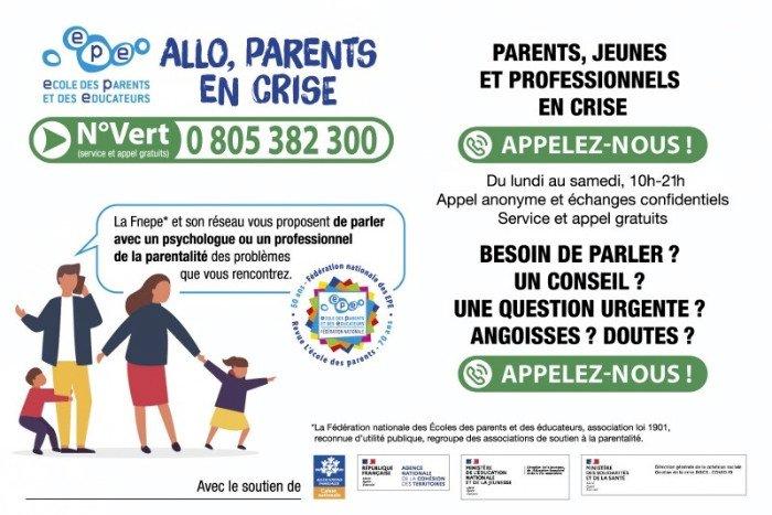 « Allô Parents en crise » une plateforme d'écoute téléphonique