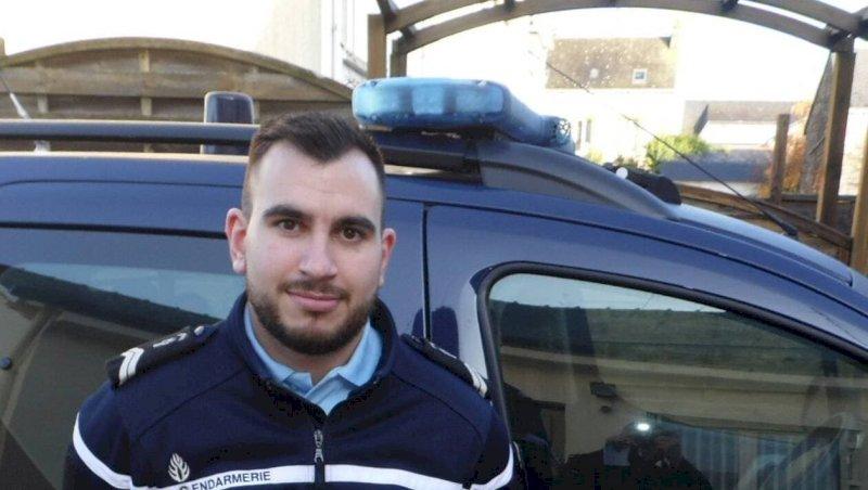 Le gendarme Alexandre Fortun a rejoint la brigade