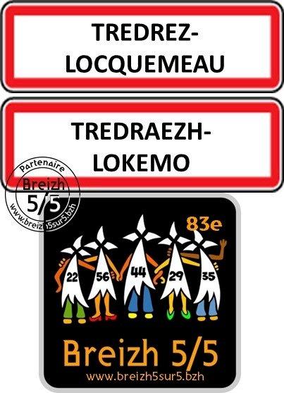 """Une nouvelle commune s'affiche """"Breizh 5/5"""" : Tredrez-Locquémeau / Tredraezh-Lokemo"""