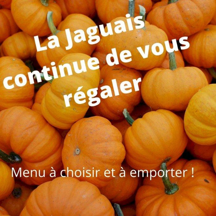 La Jaguais à Campbon vous propose son menu de la semaine