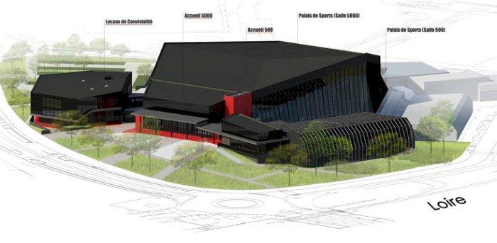 Le Palais des sports de Beaulieu : Un chantier de rénovation XXL