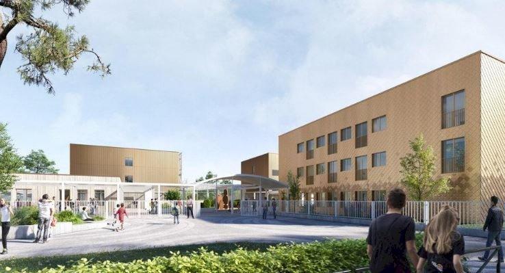 Plus grand, plus moderne, à quoi ressemblera le collège Le Galinet dans quelques mois ?