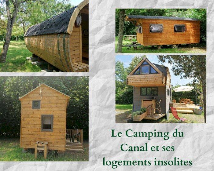 Des logements insolites au camping de Blain
