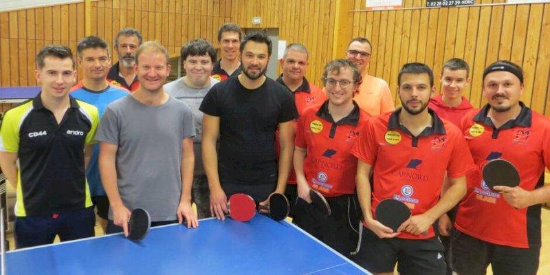 Tennis de table : une équipe en Régionale 2