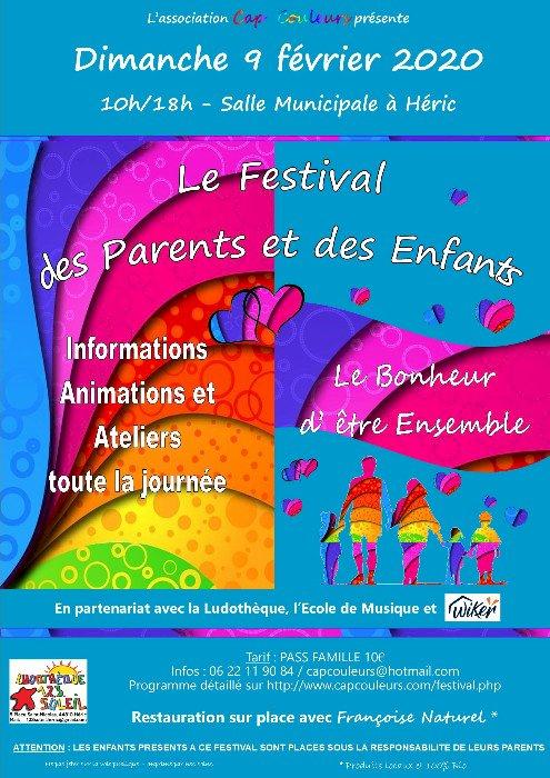 Dimanche : Festival des parents et des enfants
