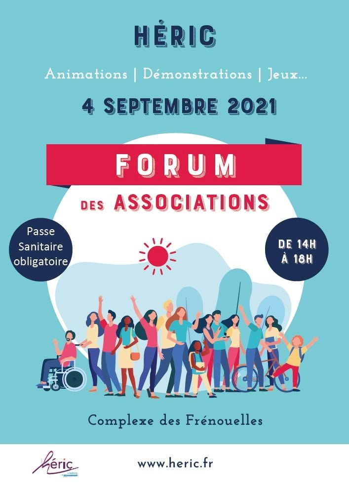 Forum des associations, samedi 4 septembre