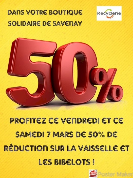 RECYCLERIE - Promotion exceptionnelle