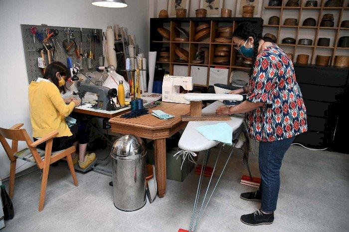 Des créatrices nazairiennes se lancent dans la production de masques