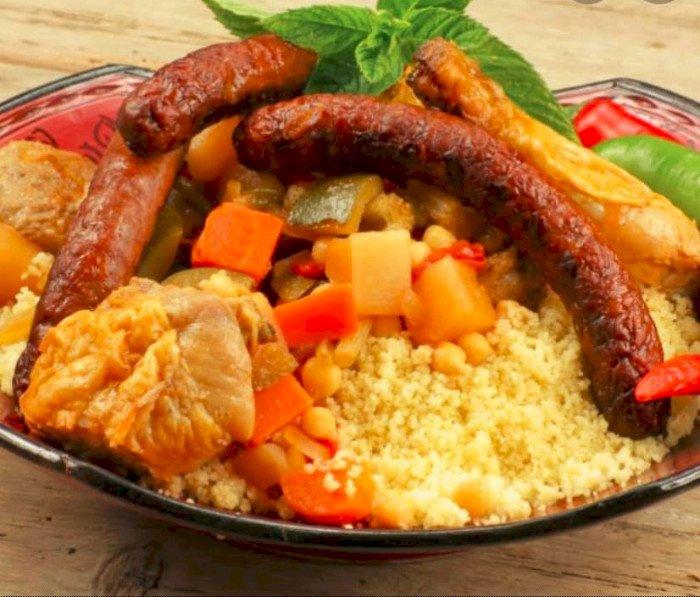 Le plat traditionnel du Vendredi : Un Super couscous le 4 décembre