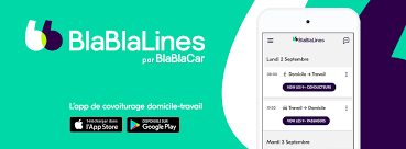 Avec BlaBlaLines,  vos trajets domicile-travail en covoiturage gratuits en Pays de la Loire