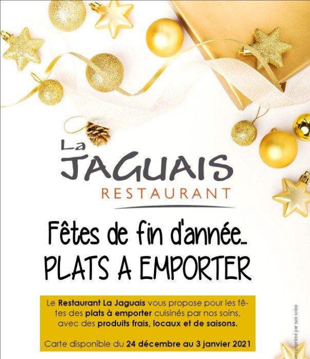 Menu de La Jaguais pour les fêtes de fin d'année ✨