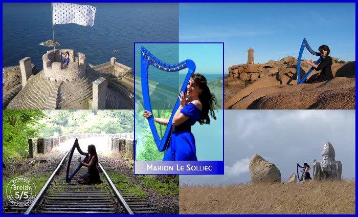 Un nouveau #PartenaireBreizh5sur5 : la harpiste Marion Le Solliec.