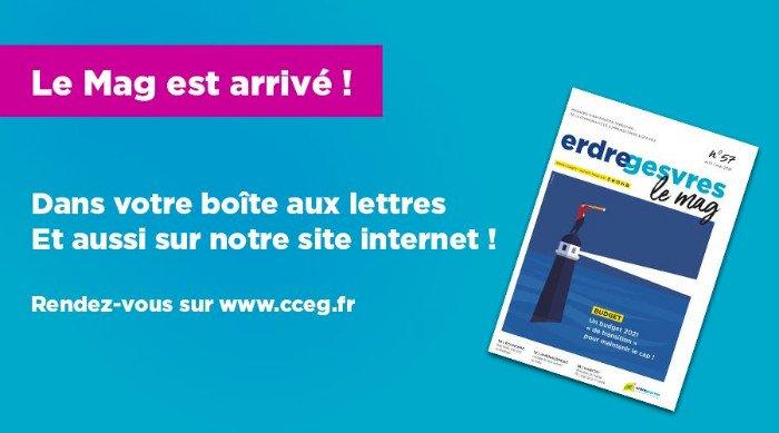 ERDRE & GESVRES LE MAG est en ligne
