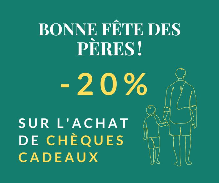 -20% POUR LE FÊTE DES PÈRES CHEZ FABIENNE REFLEXOLOGIE !