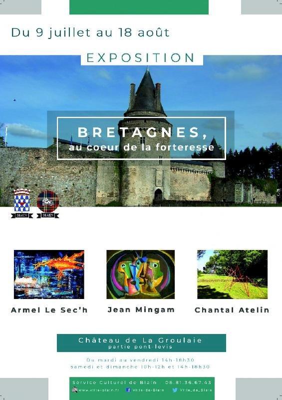 Exposition au Château de La Groulaie   Ville de Blain