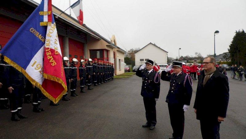 Le nombre de pompiers en augmentation