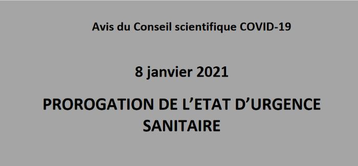 Prolongation du régime transitoire de sortie de l'état d'urgence sanitaire jusqu'au au 31 décembre 2021