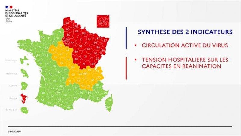 Coronavirus. Carte de déconfinement: la Loire-Atlantique passe au vert ce dimanche   Presse Océan