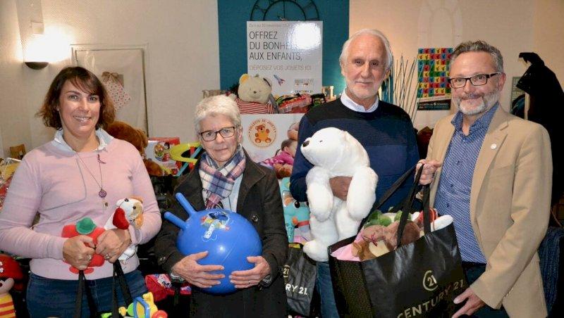900 jouets collectés pour des centaines d'enfants