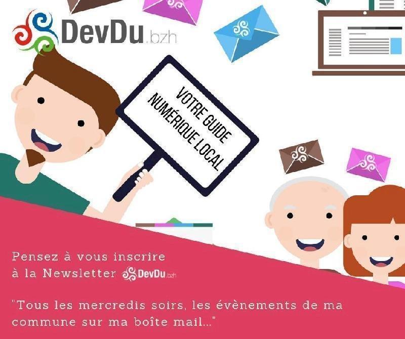 Pensez à vous inscrire à la Newsletter DevDu