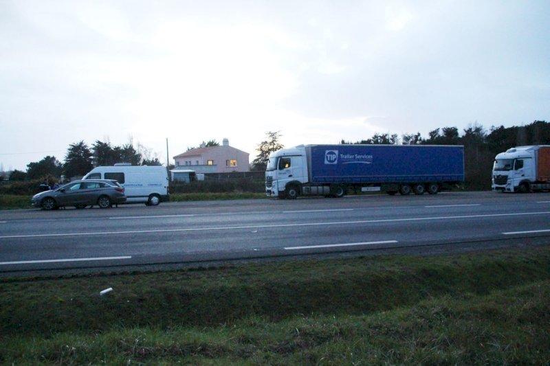 Entre Pornic et Villeneuve-en-Retz, un chauffeur routier retrouvé mort dans son camion