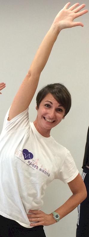 Sophie Billoir, Enseignante en activités physiques adaptées et santé, interviewée par Cap Couleurs