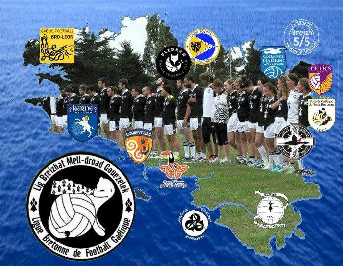 Un nouveau #PartenaireBreizh5sur5 : la Ligue Bretonne de Football Gaélique